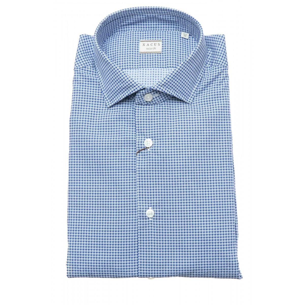Camicia uomo - 748 41505 stampa su popeline
