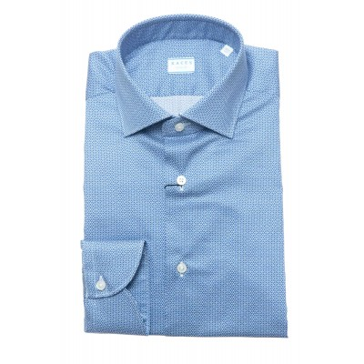 Camicia uomo - 558 11365  no stiro stampa