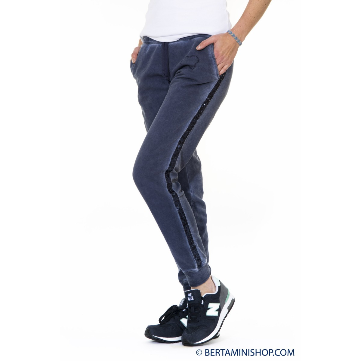 Pants jogging Better Rich Woman - F28P 3810 - Blu