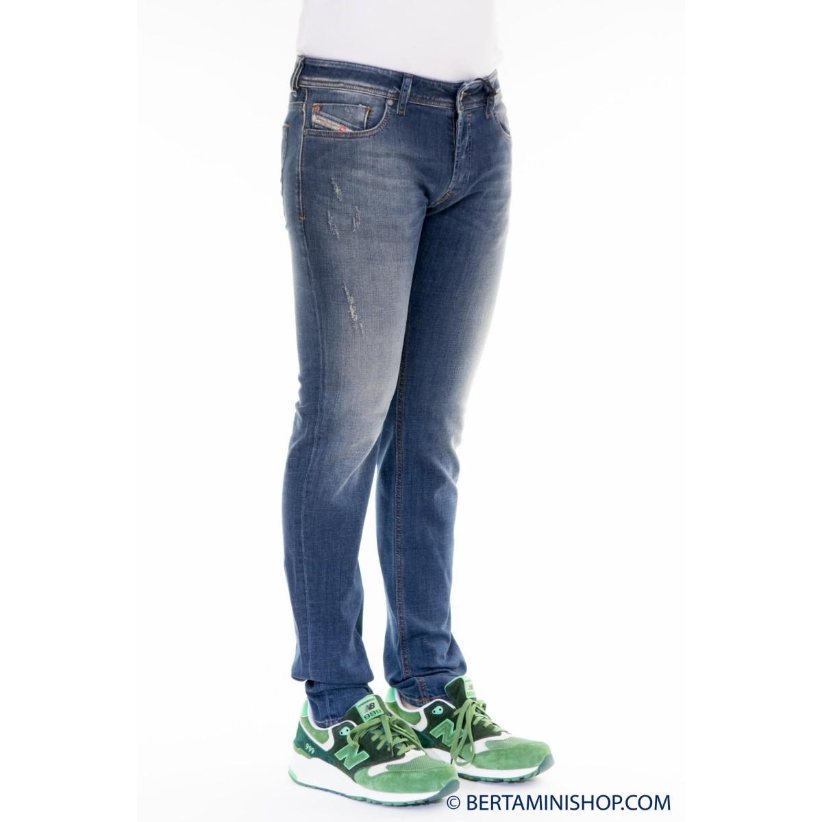 Jeans Diesel Manner - Sleenker Skynny Strech 084BI