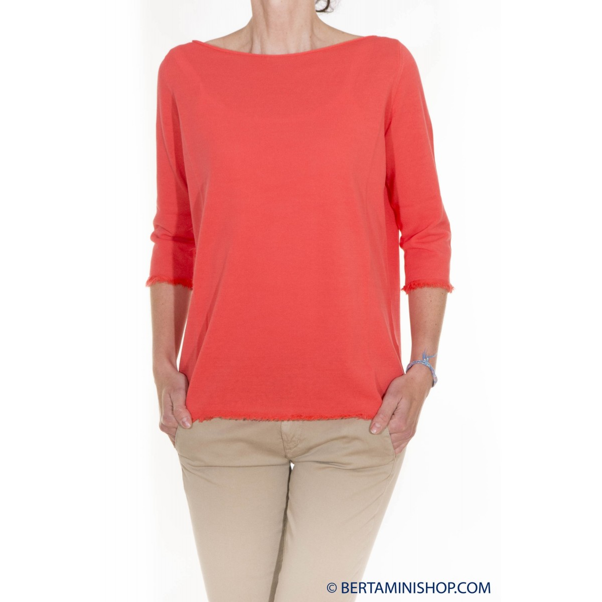 Sweater Kangra Damen - 1571/13 264 - Arancio