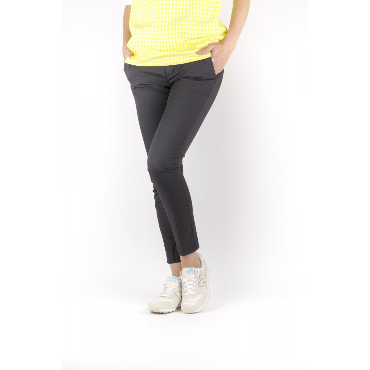 Trousers Department Five Woman - Puff D10P52 T1002 456 - carbone