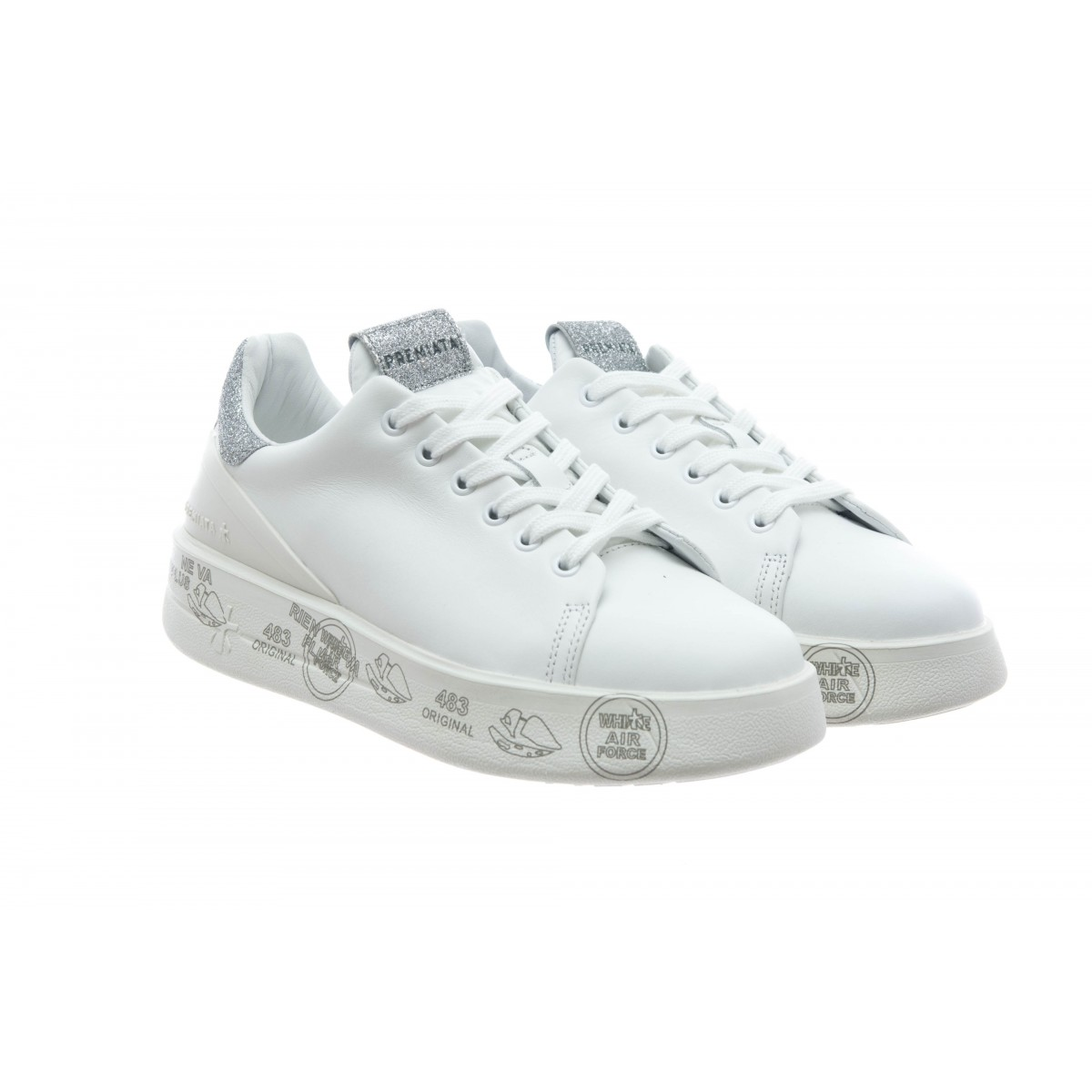 Scarpe - Belle 3014 sneakers donna bianca