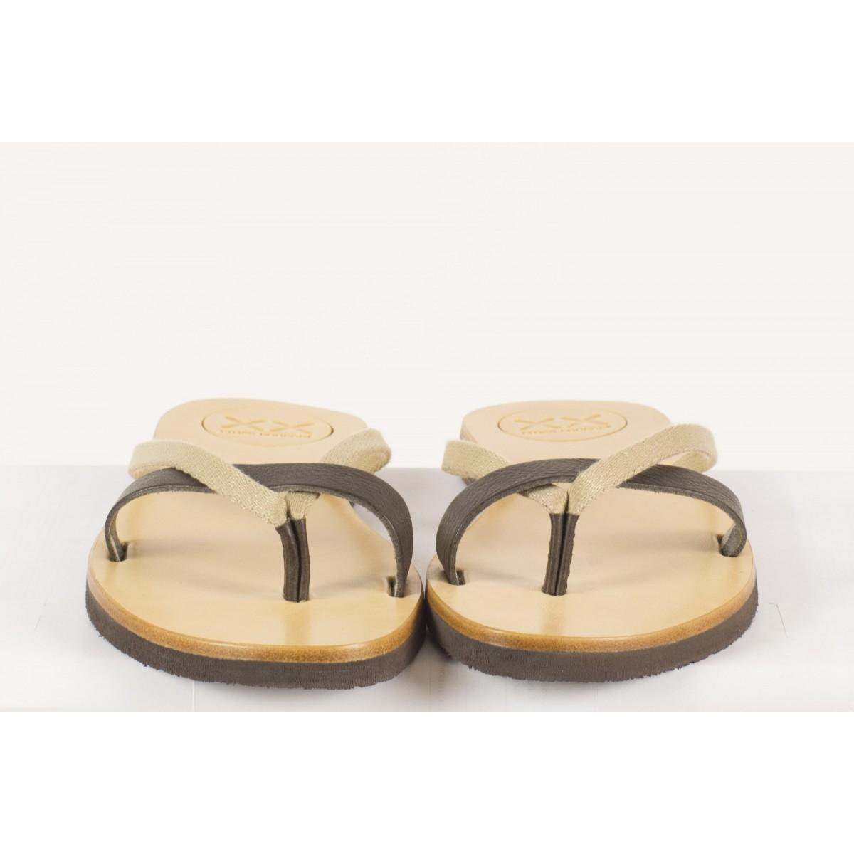 Sandalo Xx Cross Concept - S01 Tutti Frutti Infradito Donna Brown