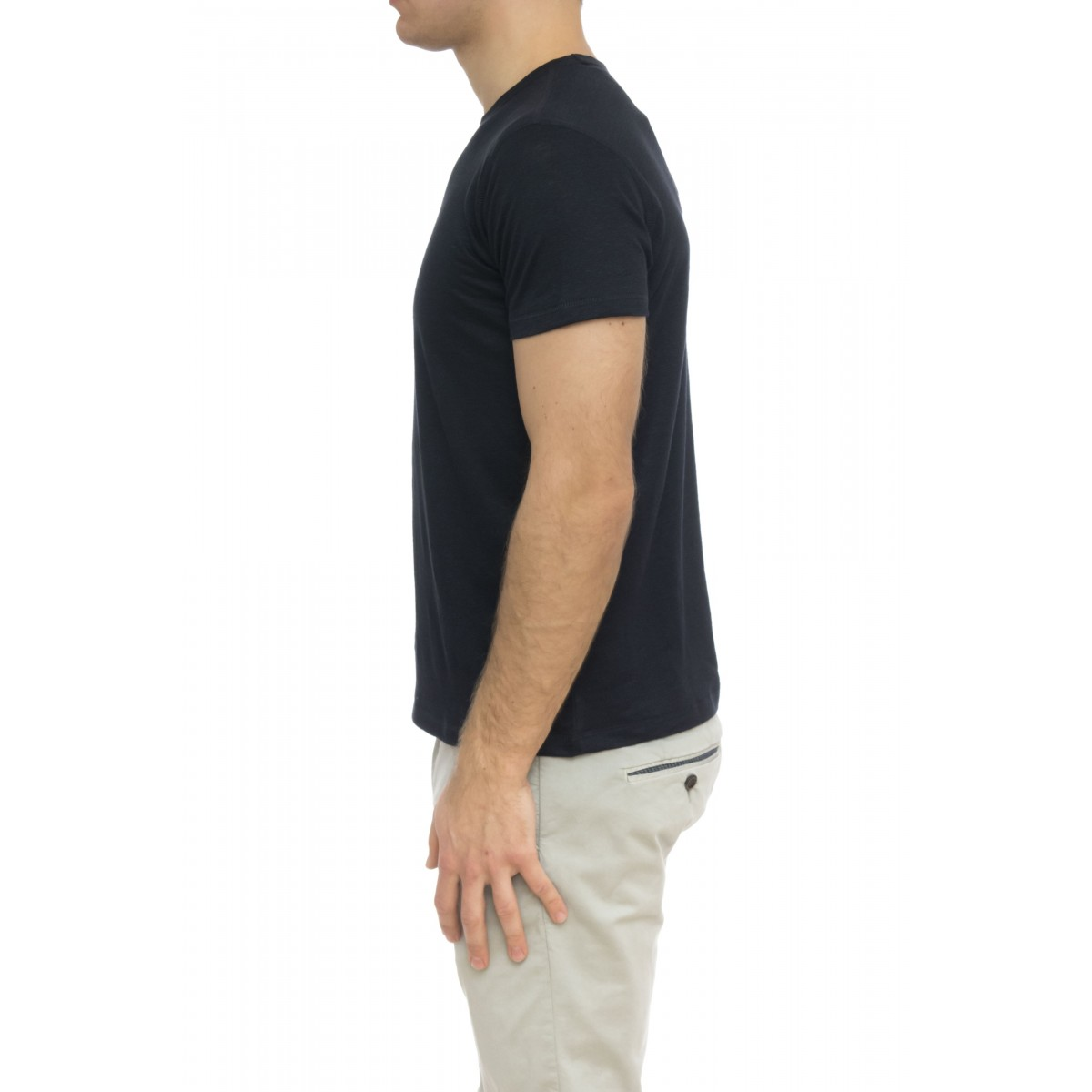 T-shirt uomo - J503 hts040 t-shirt lino
