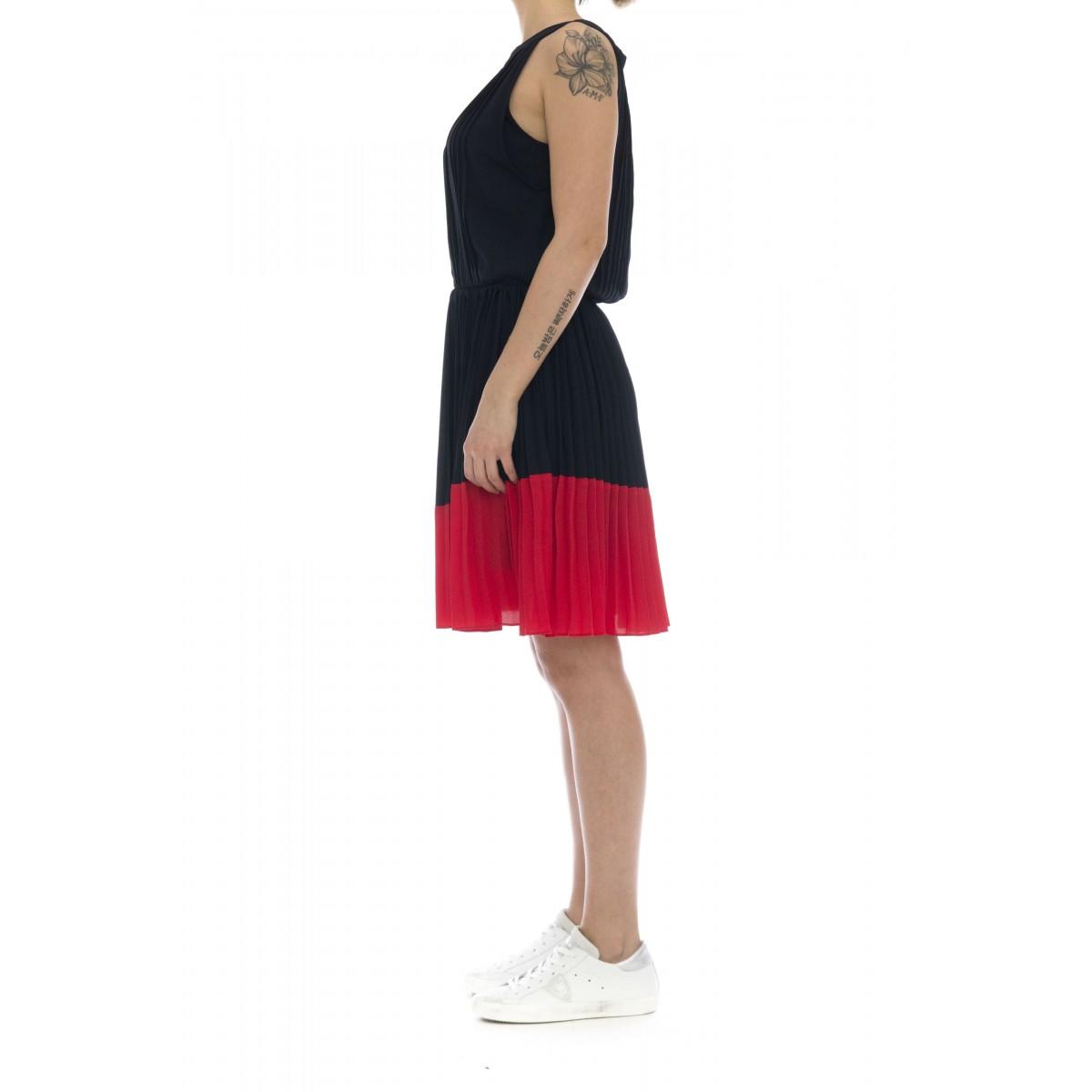 Vestito - Lilly vestito plisse senza manica