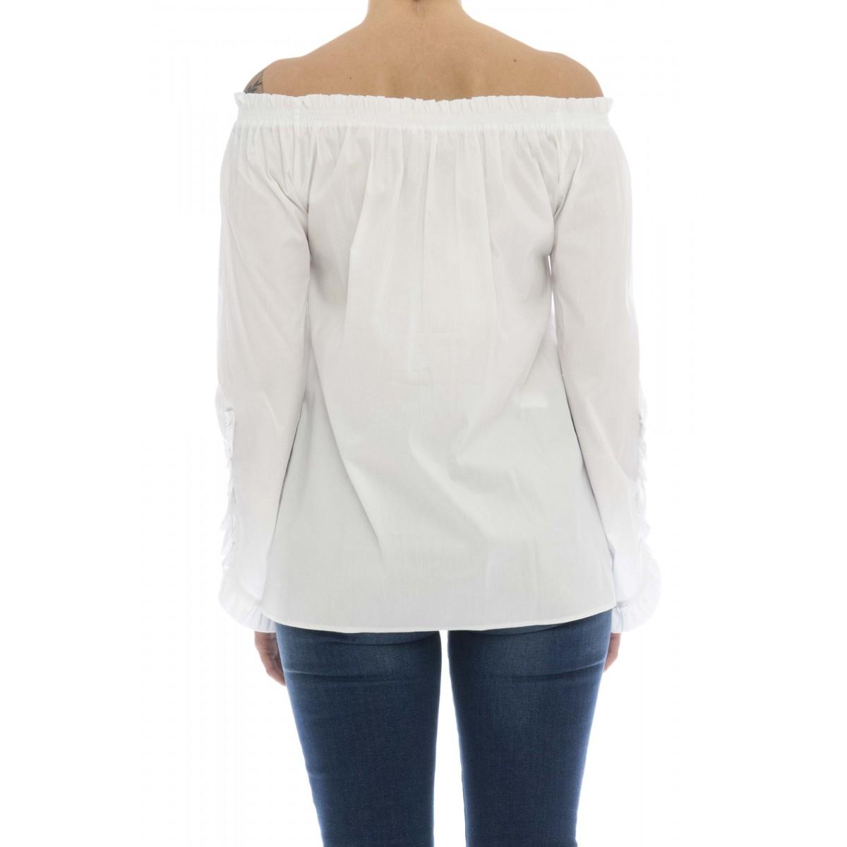Camicia donna - Agar camicia rouge