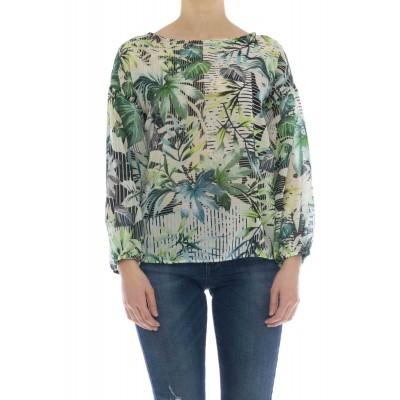 Camicia donna - Daria 45508 camicia stampa