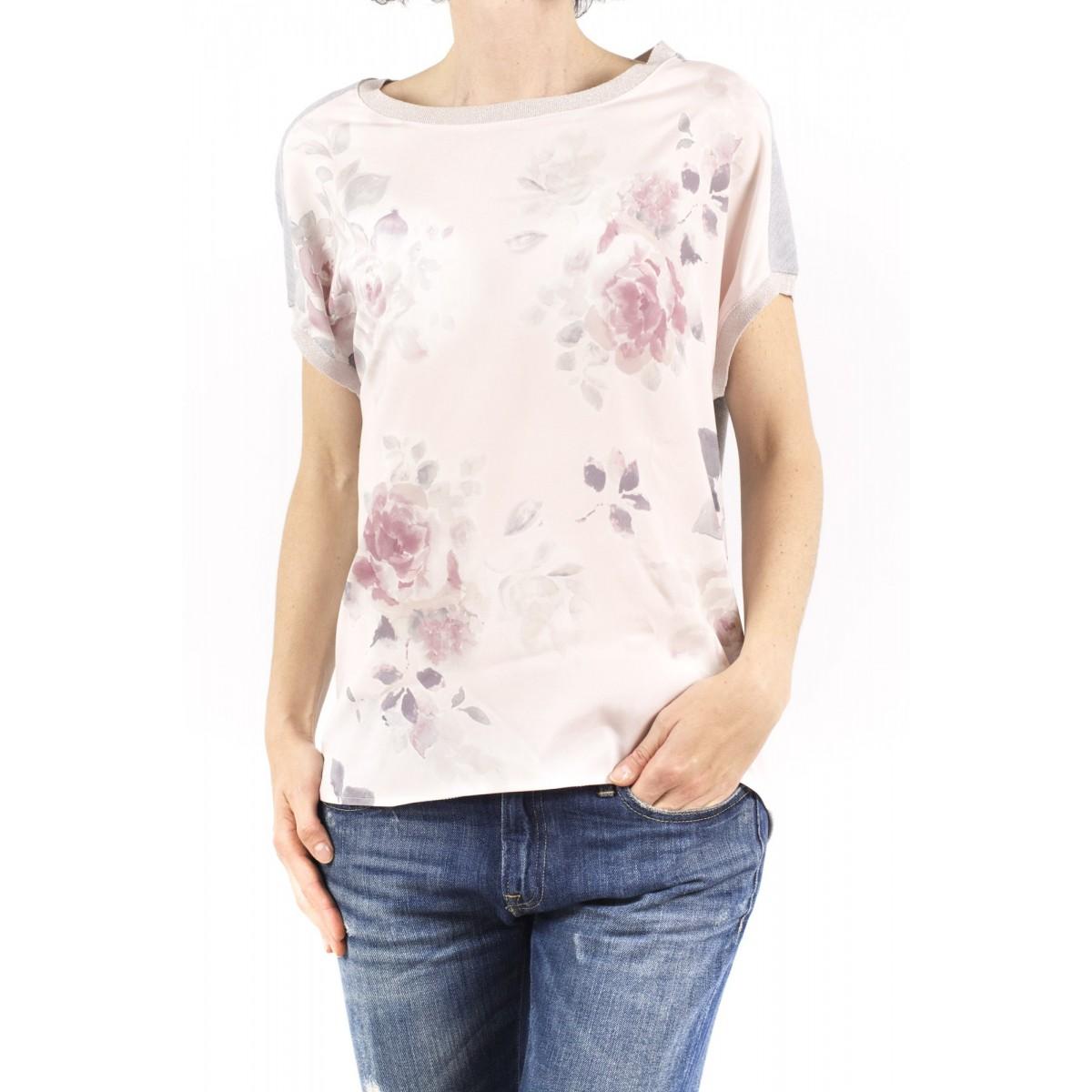 T-shirt donna Kangra - 8821/63 56 - rosa