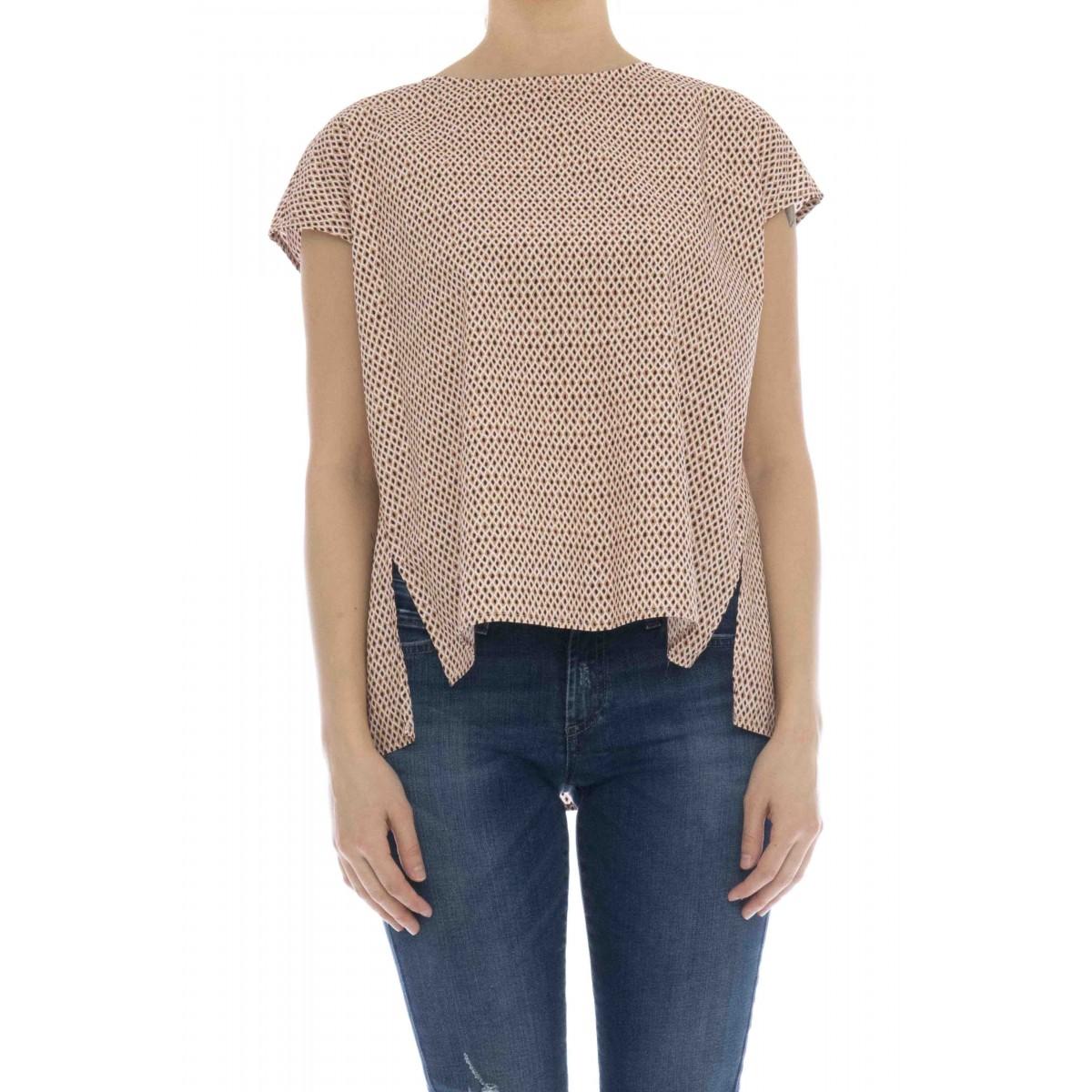 Camicia donna - Wwte148 camicia fantasia