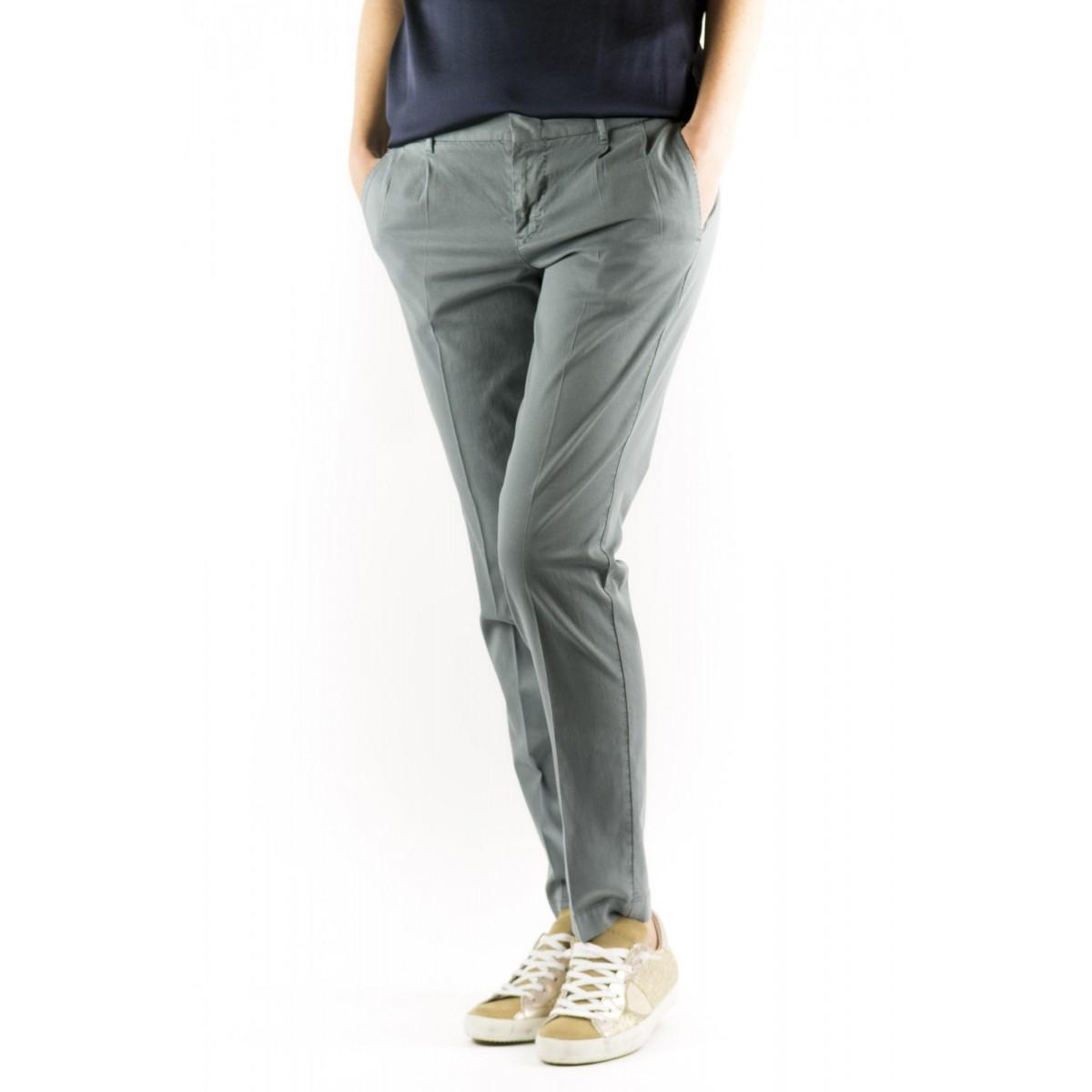 Trousers PT0W Woman - Vtc2 Eb65 Cotone Strech 0040 - beige