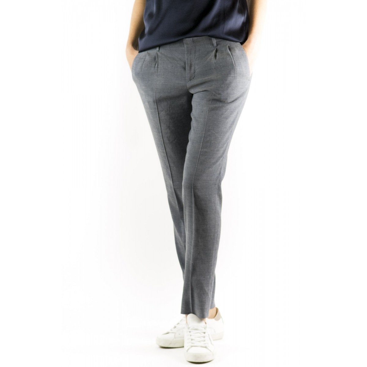 Pantalone PT0W Donna - Cdvsc2 Fb31 Lino Strech
