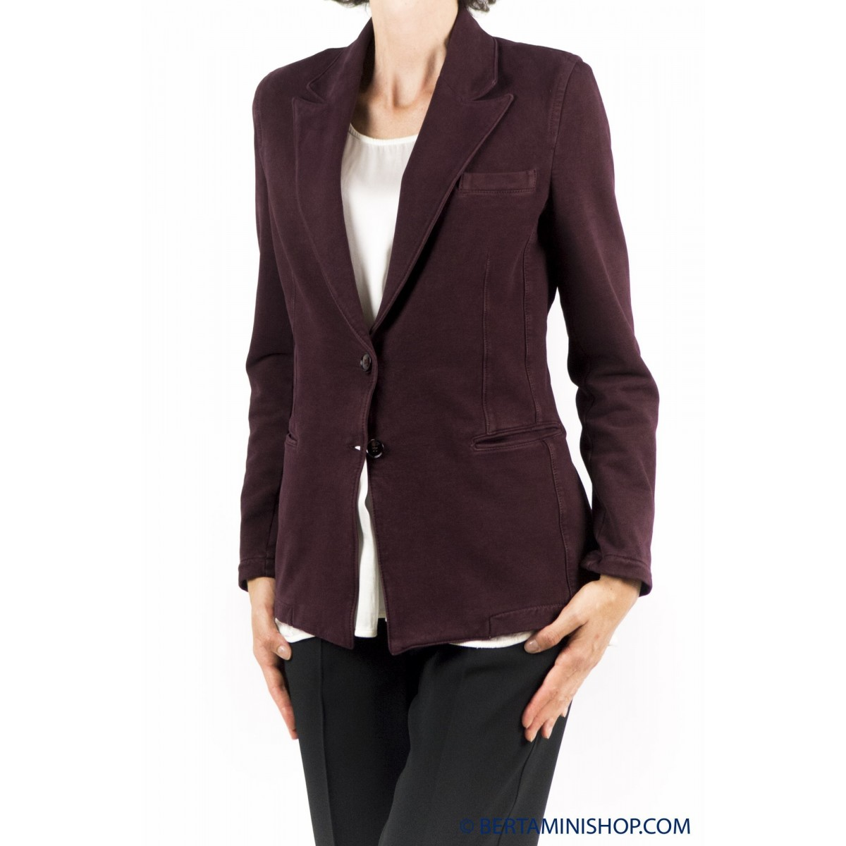 Giacca donna Circolo 1901 - Fd464 giacca lunga punta lancia 5203 - Ribes
