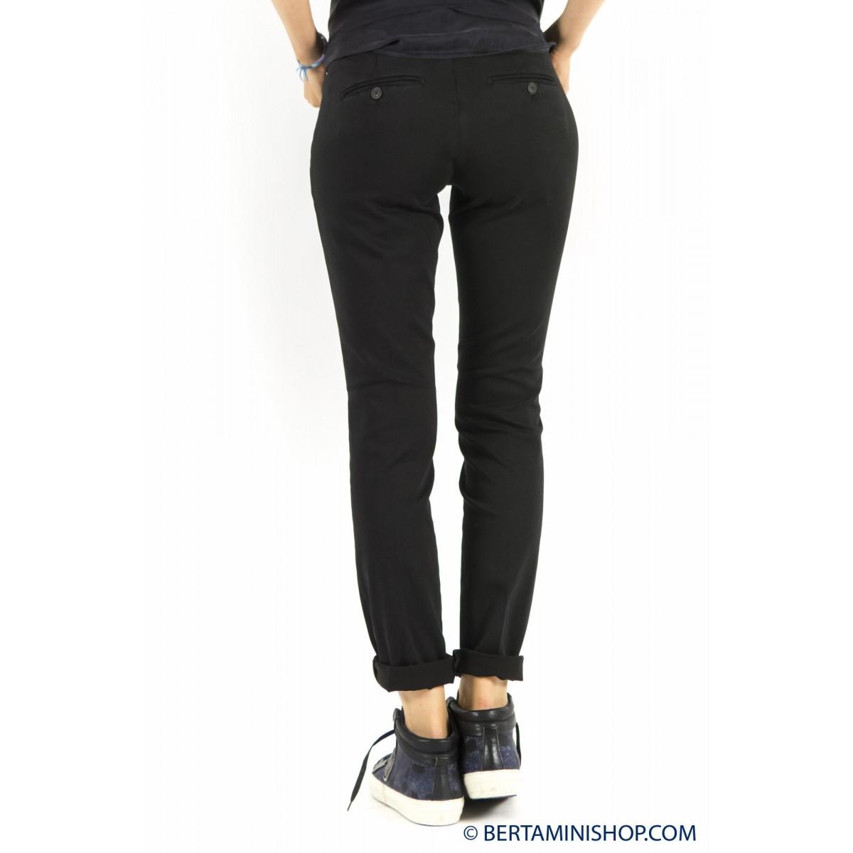 Trousers Roy Rogers Woman - Roxane Raso 020 - nero