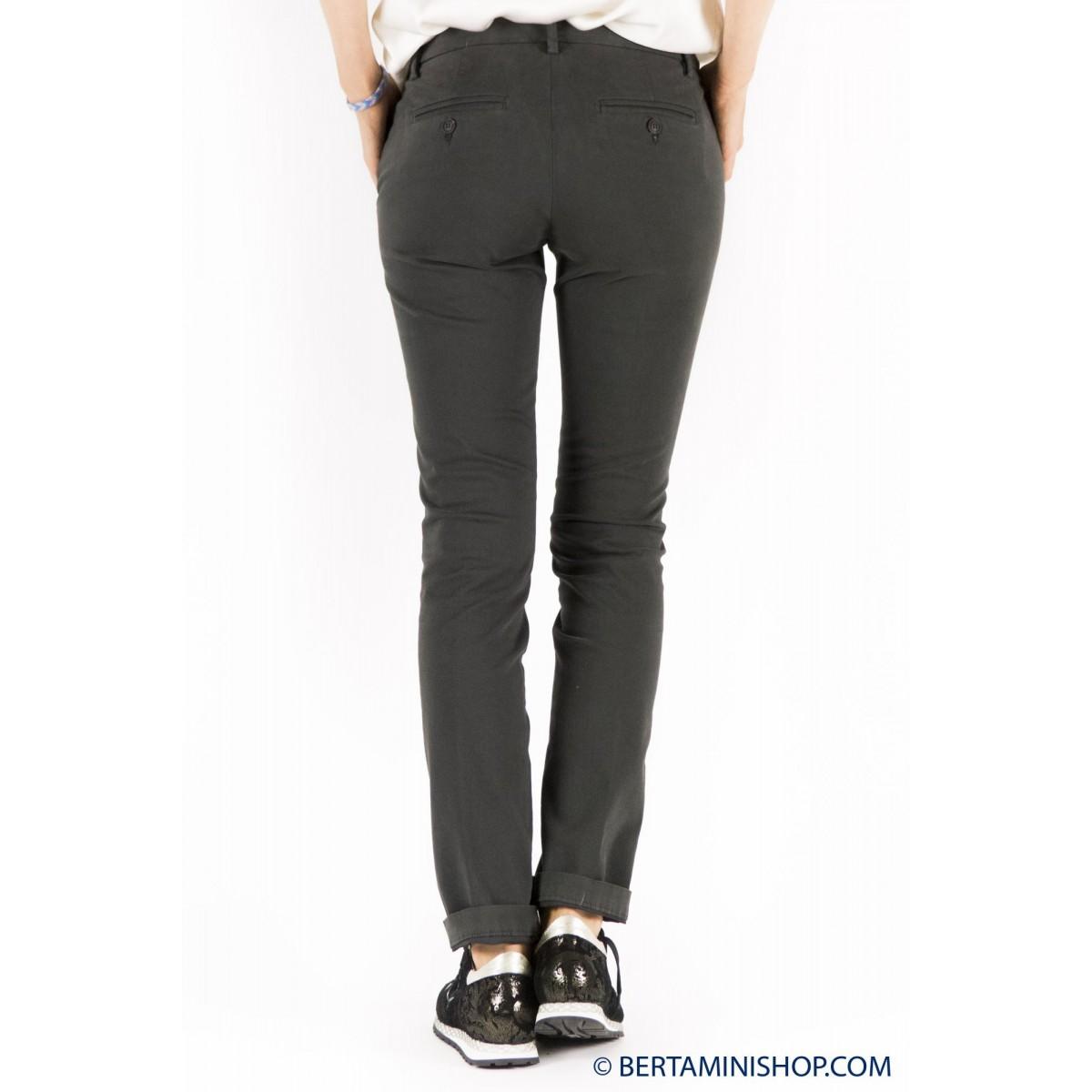 Trousers Roy Rogers Woman - Roxane Raso 248 - Asfalto