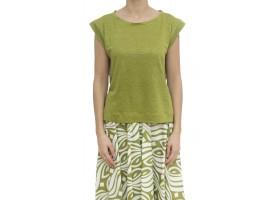 レディース Tシャツ:高品質のノースリーブとTシャツ