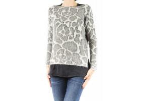シャツとセーター女性:アウトレット価格であなたのための暖かいニットウェア。