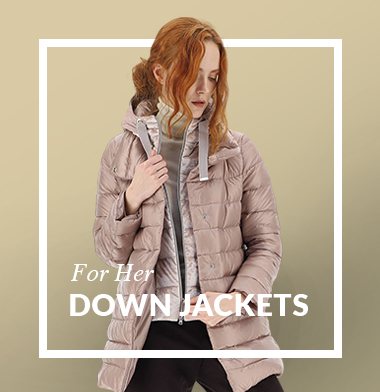 Women down jackets